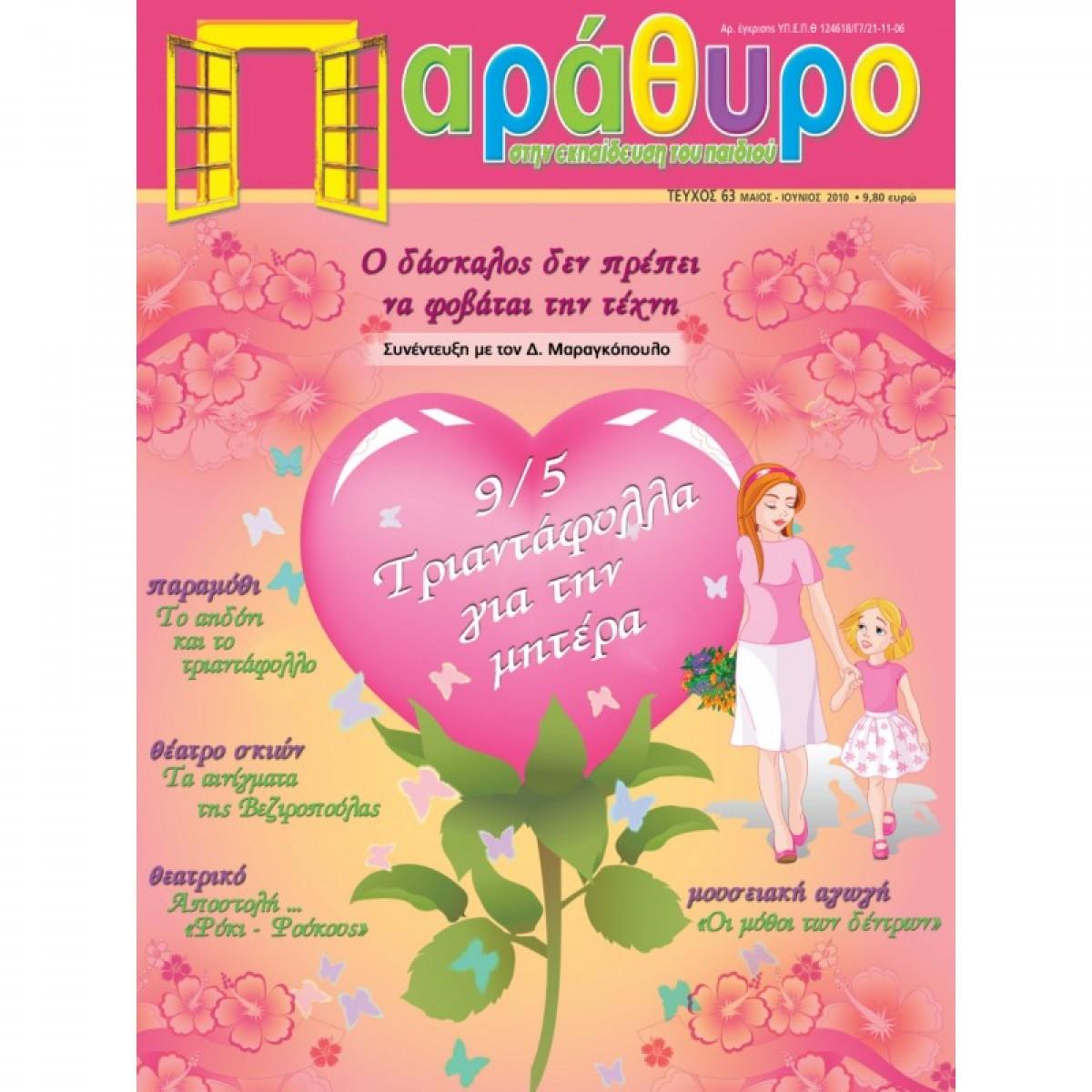 ΠΑΡΑΘΥΡΟ ΤΕΥΧΟΣ 63 Περιοδικό Παράθυρο