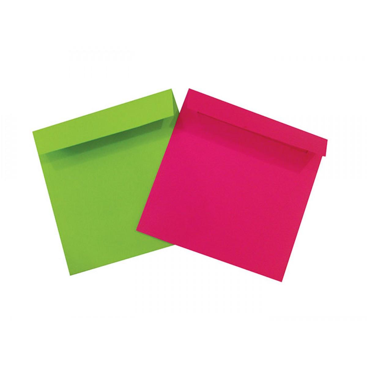 Χρωματιστοί Φάκελοι 20x20cm Είδη Γραφείου
