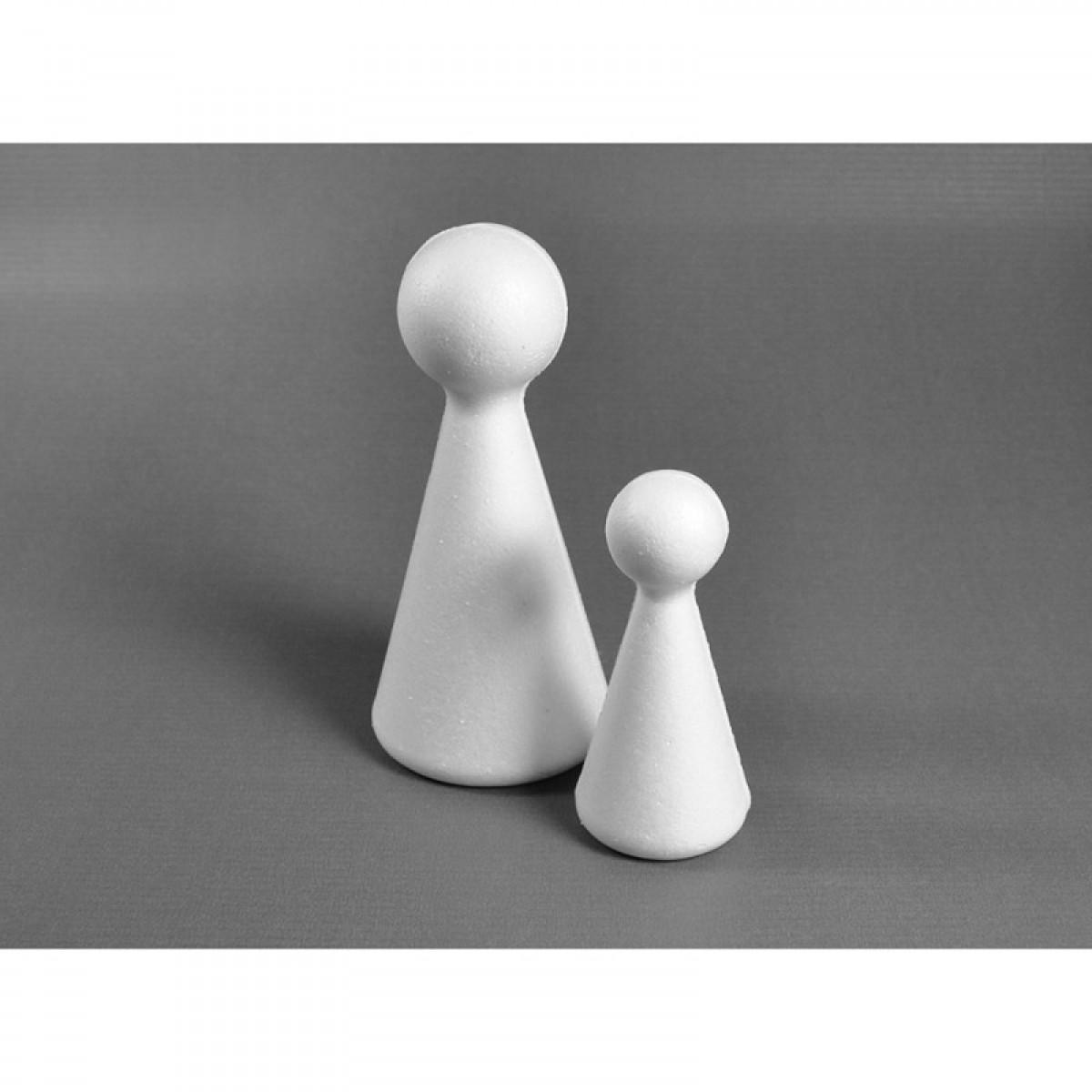 Κώνος Με Κεφάλι 6cm 12cm 15cm Υλικά Χειροτεχνίας
