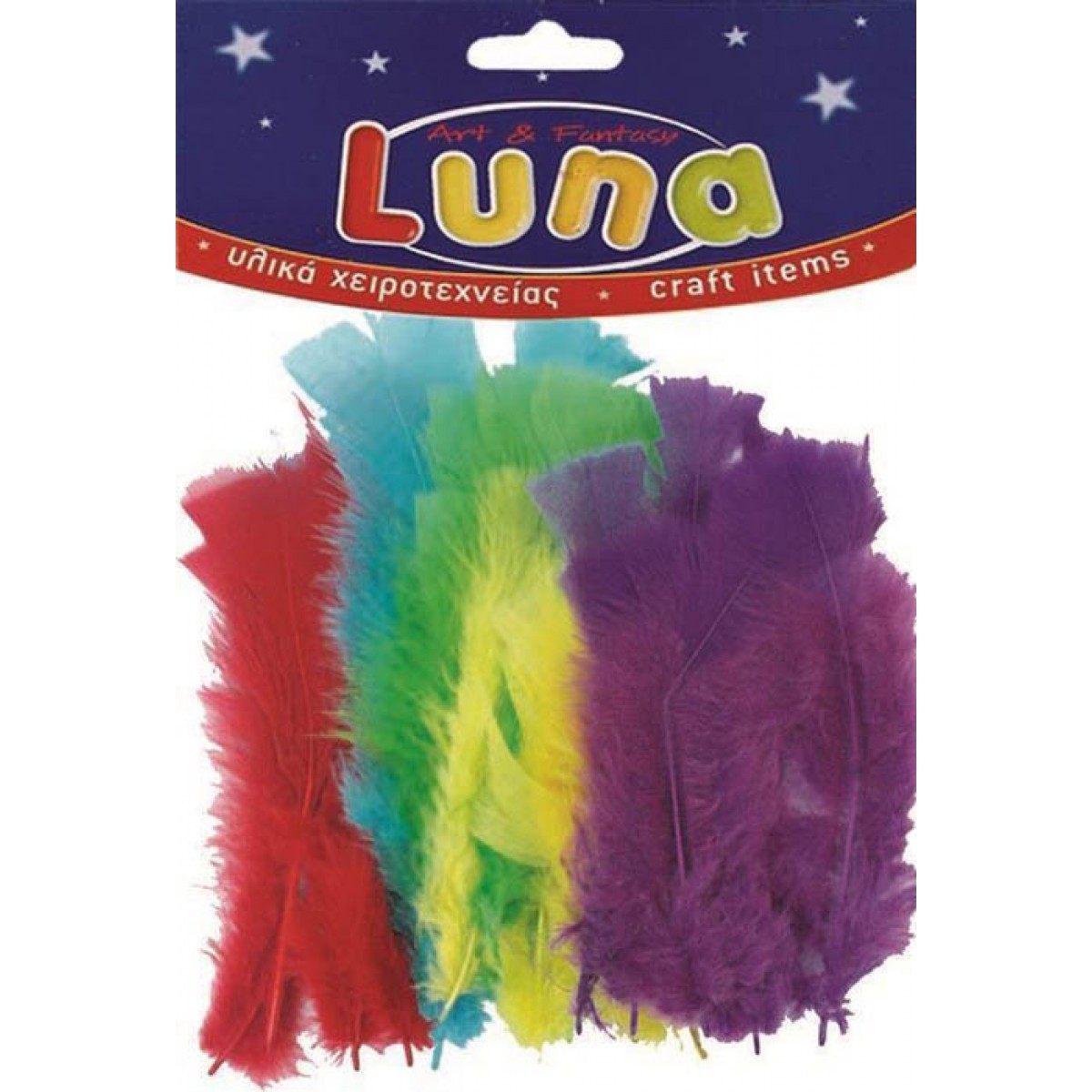 Luna Φτερά (30 Τεμ.) Υλικά Χειροτεχνίας