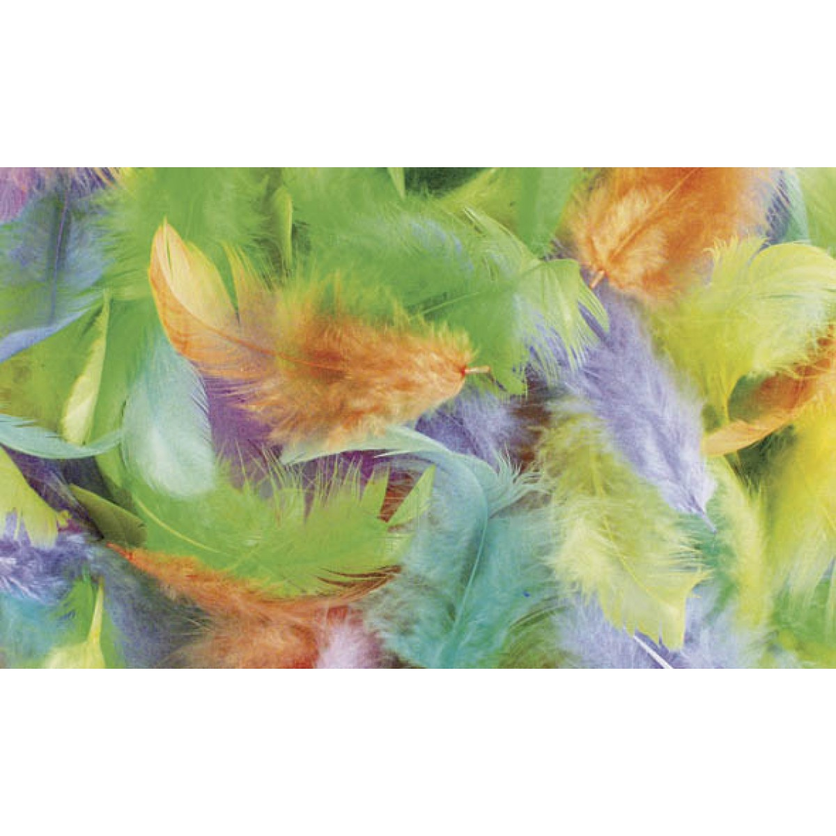 Rayher Πούπουλα Μίξη Παλ Χρώματα 10gr Υλικά Χειροτεχνίας