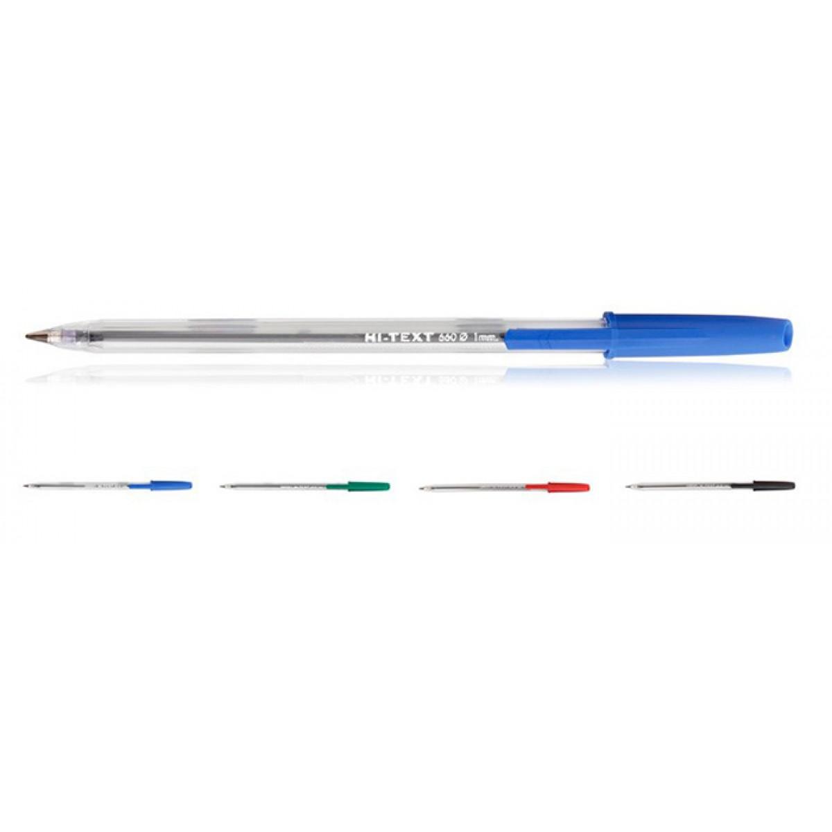 Στυλό Διαρκείας Hi-Text 1mm Είδη Γραφείου