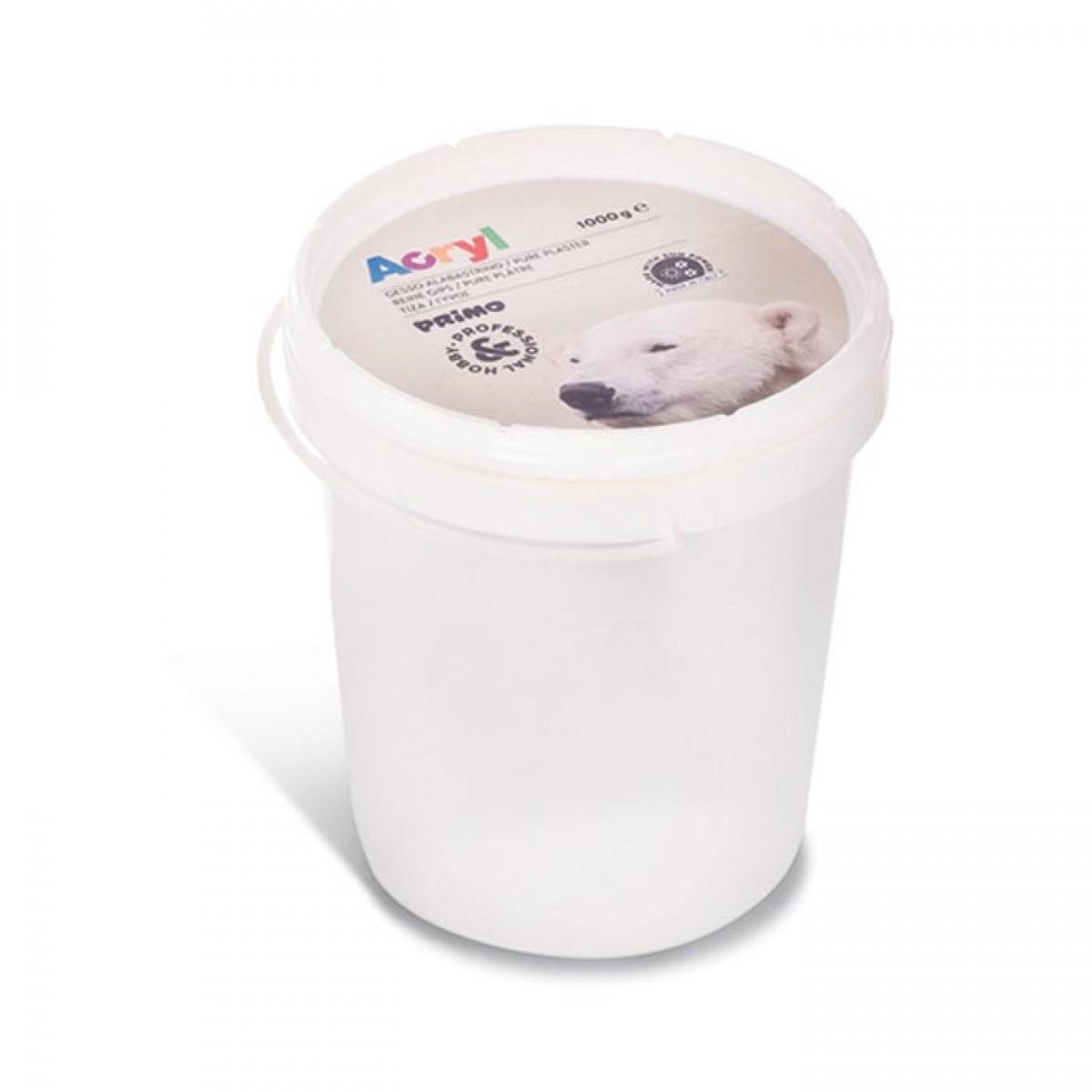 Primo Γύψος Σε Πλαστικό Κουβά (1kg) Είδη Ζωγραφικής