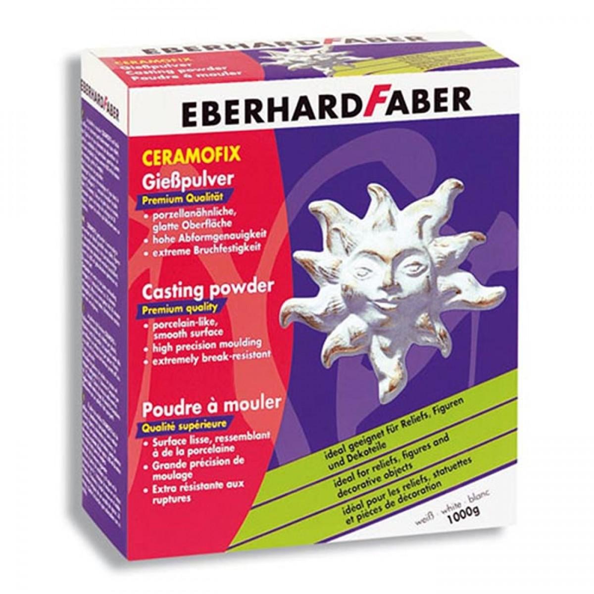 Eberhard Faber Γύψος Καλλιτεχνίας Λευκός - Τερακότα (1kg) Είδη Ζωγραφικής