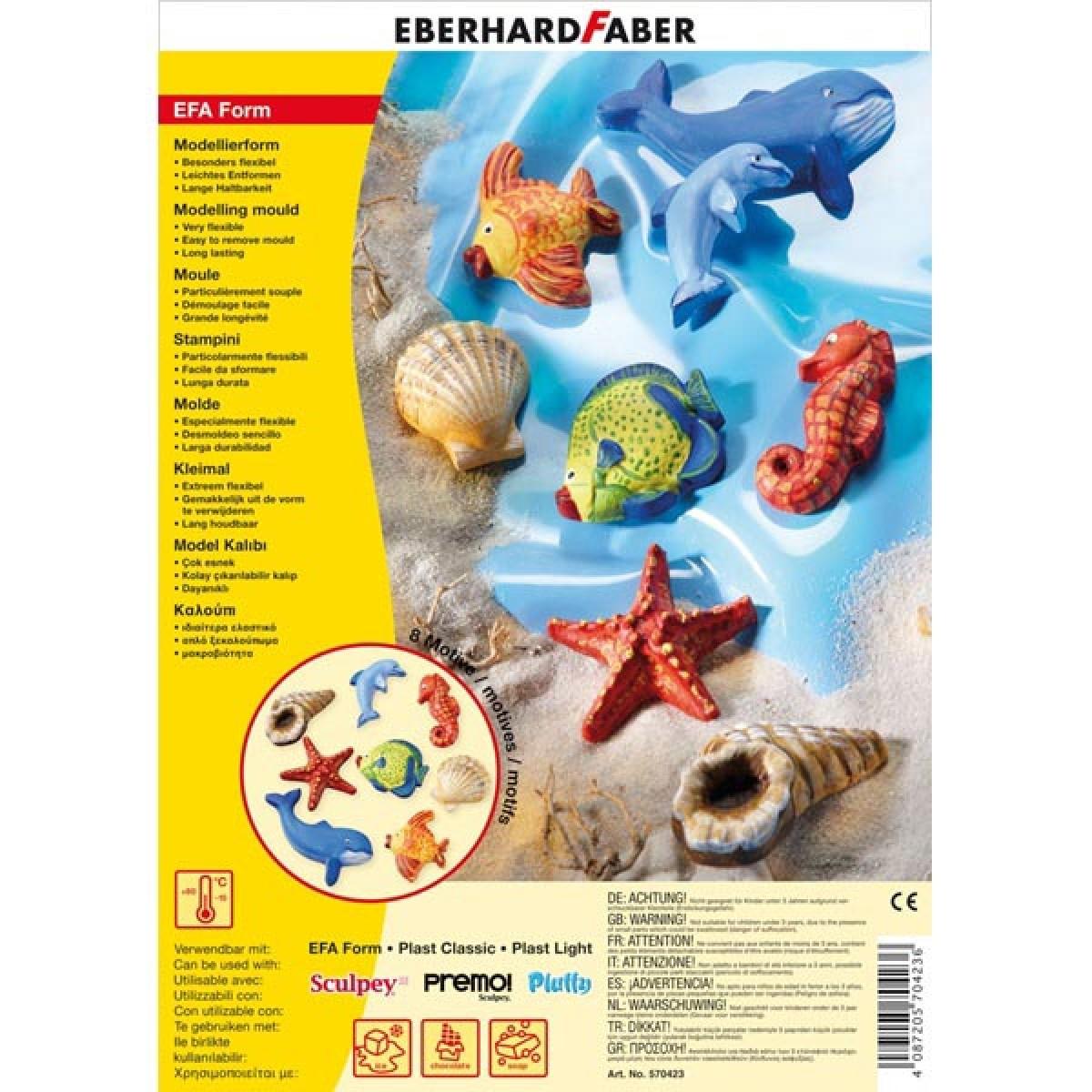 Eberhard Faber Καλούπι Sea World Είδη Ζωγραφικής
