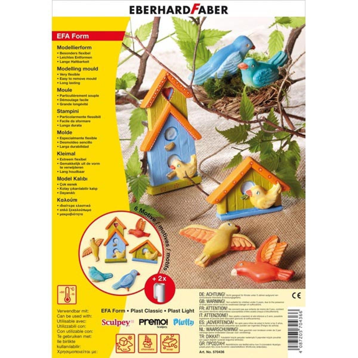 Eberhard Faber Καλούπι Birds Είδη Ζωγραφικής