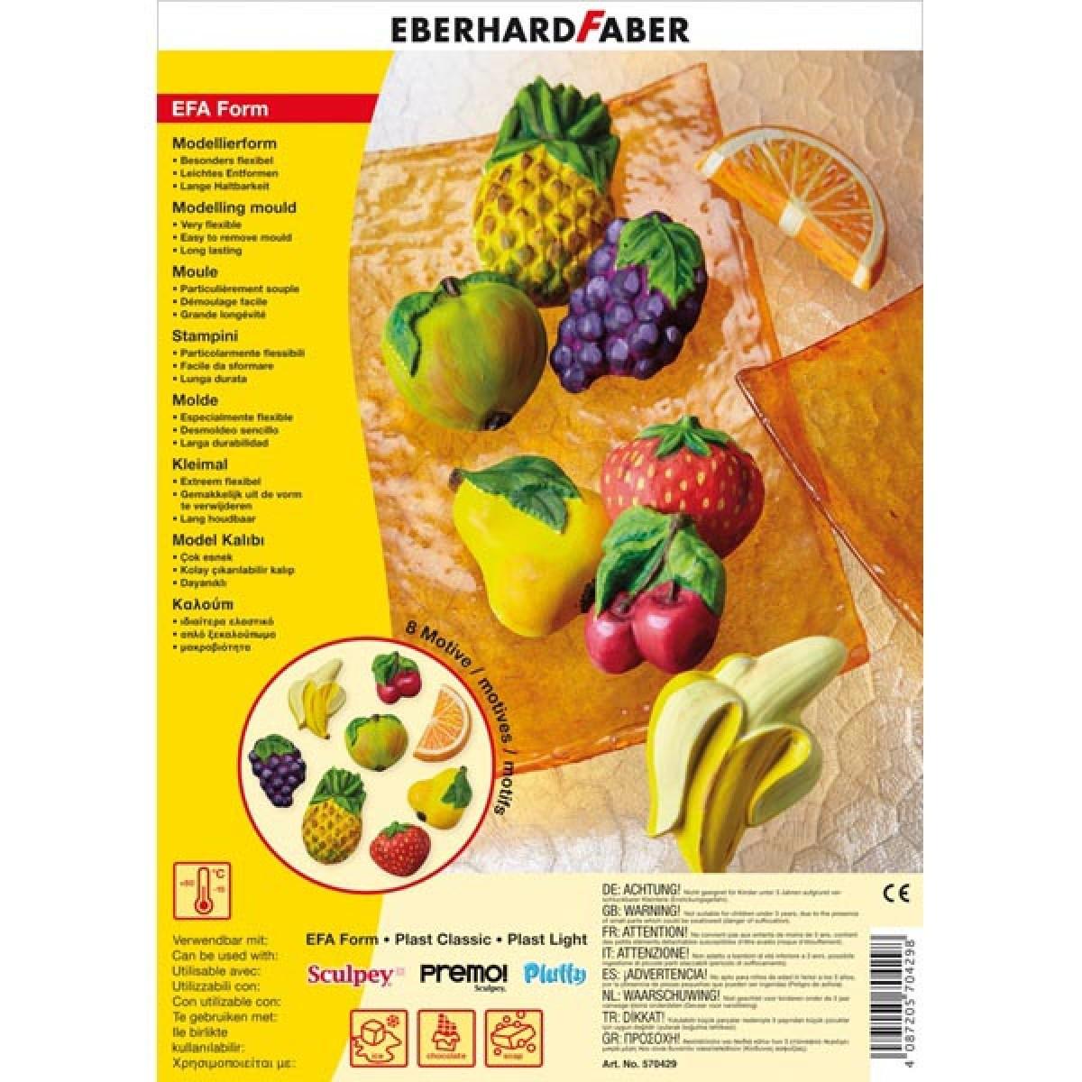 Eberhard Faber Καλούπι Fruits Είδη Ζωγραφικής