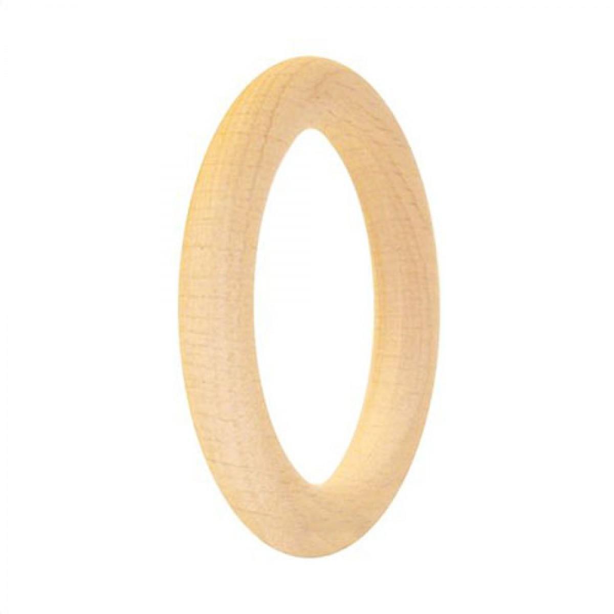 Ξύλινο Βραχιόλι 8.5cm Υλικά Χειροτεχνίας
