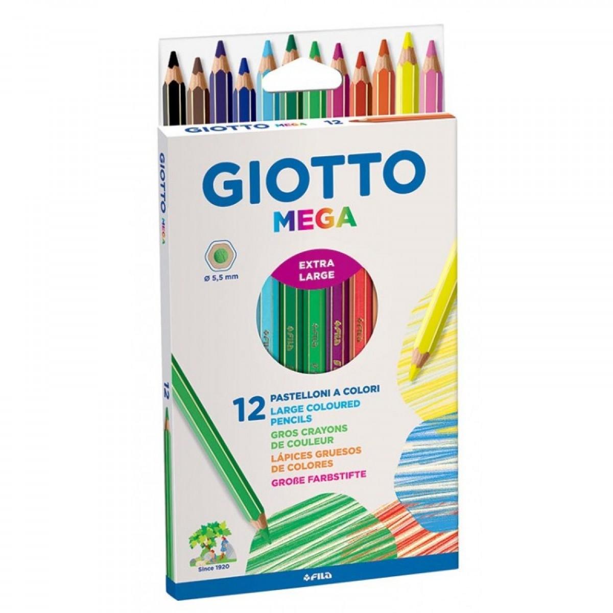 Giotto Ξυλομπογιές 5.5mm (12 Τεμ.) Ξυλομπογιές