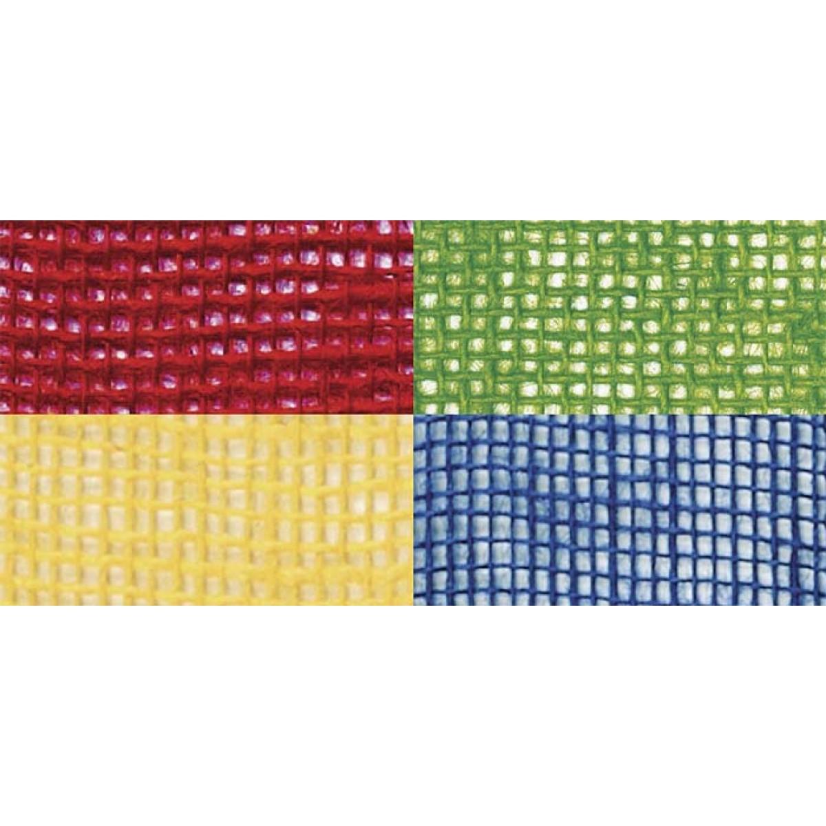 Λινάτσα Χρωματιστό 8cm Υλικά Χειροτεχνίας