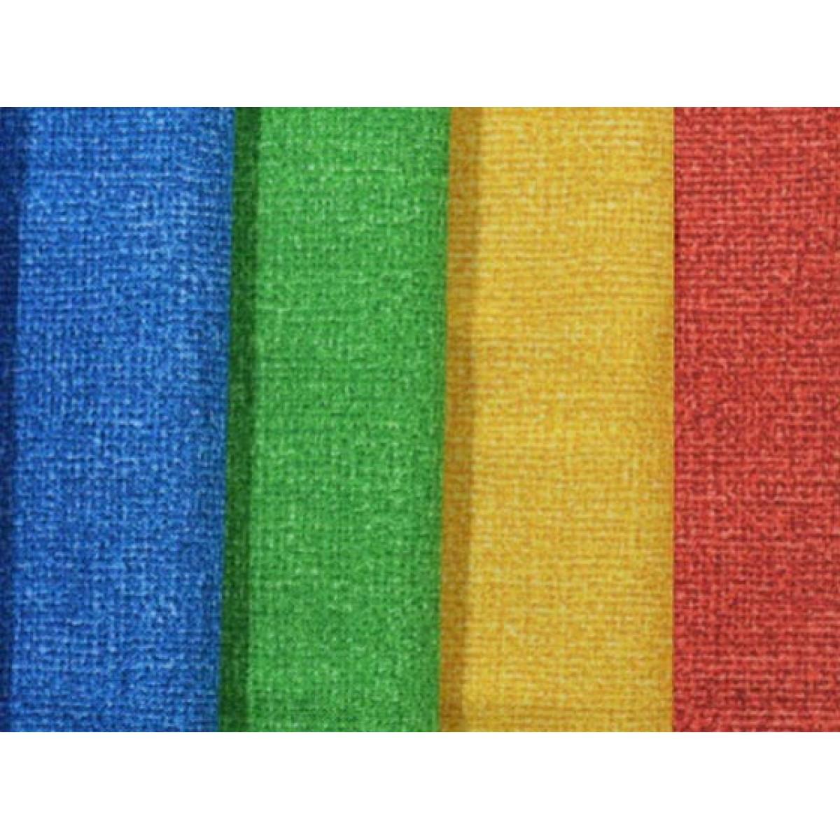 Λινάτσα Χρωματιστή Πακέτο Υλικά Χειροτεχνίας