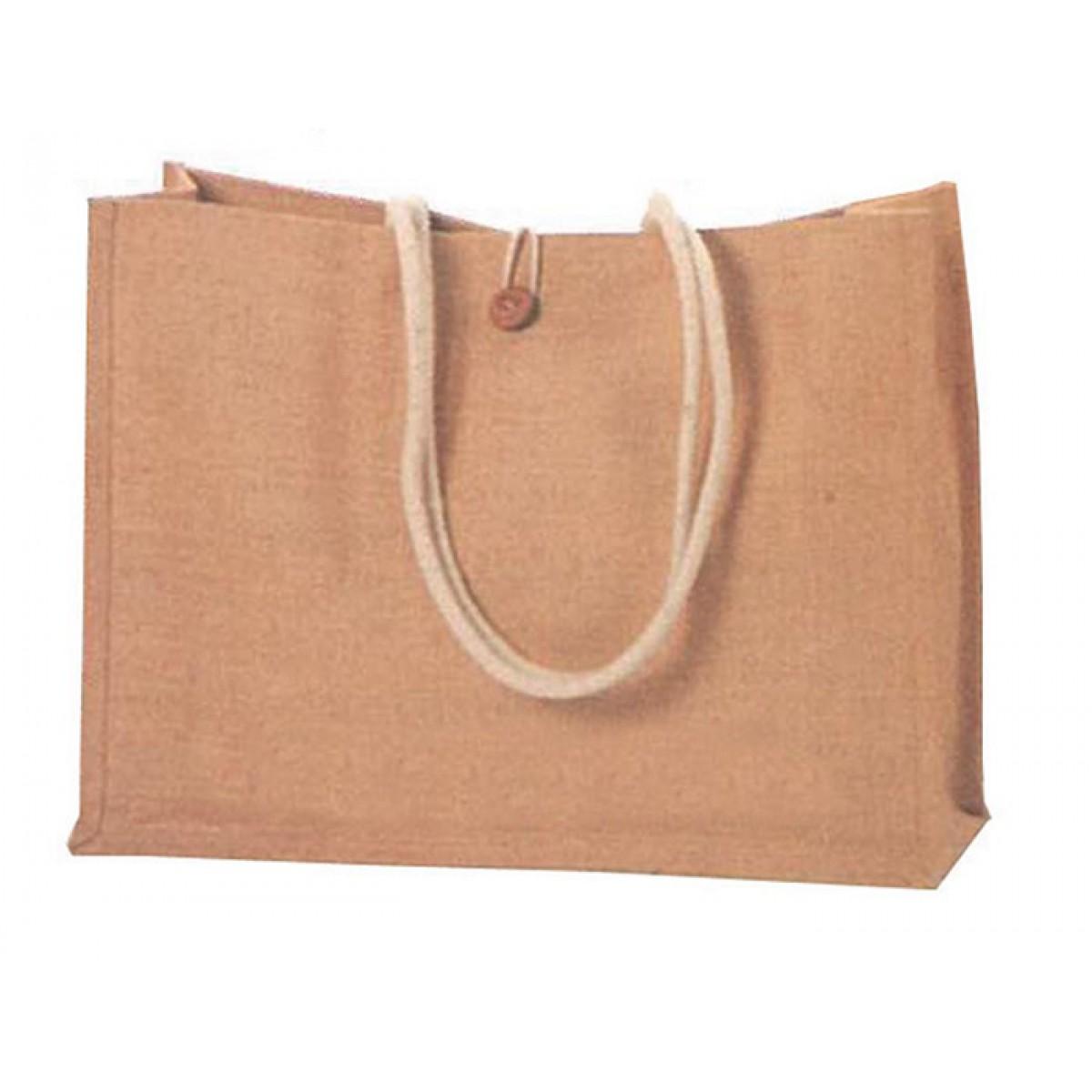 Τσάντα Από Λινάτσα Υ35x45x14εκ. Υλικά Χειροτεχνίας