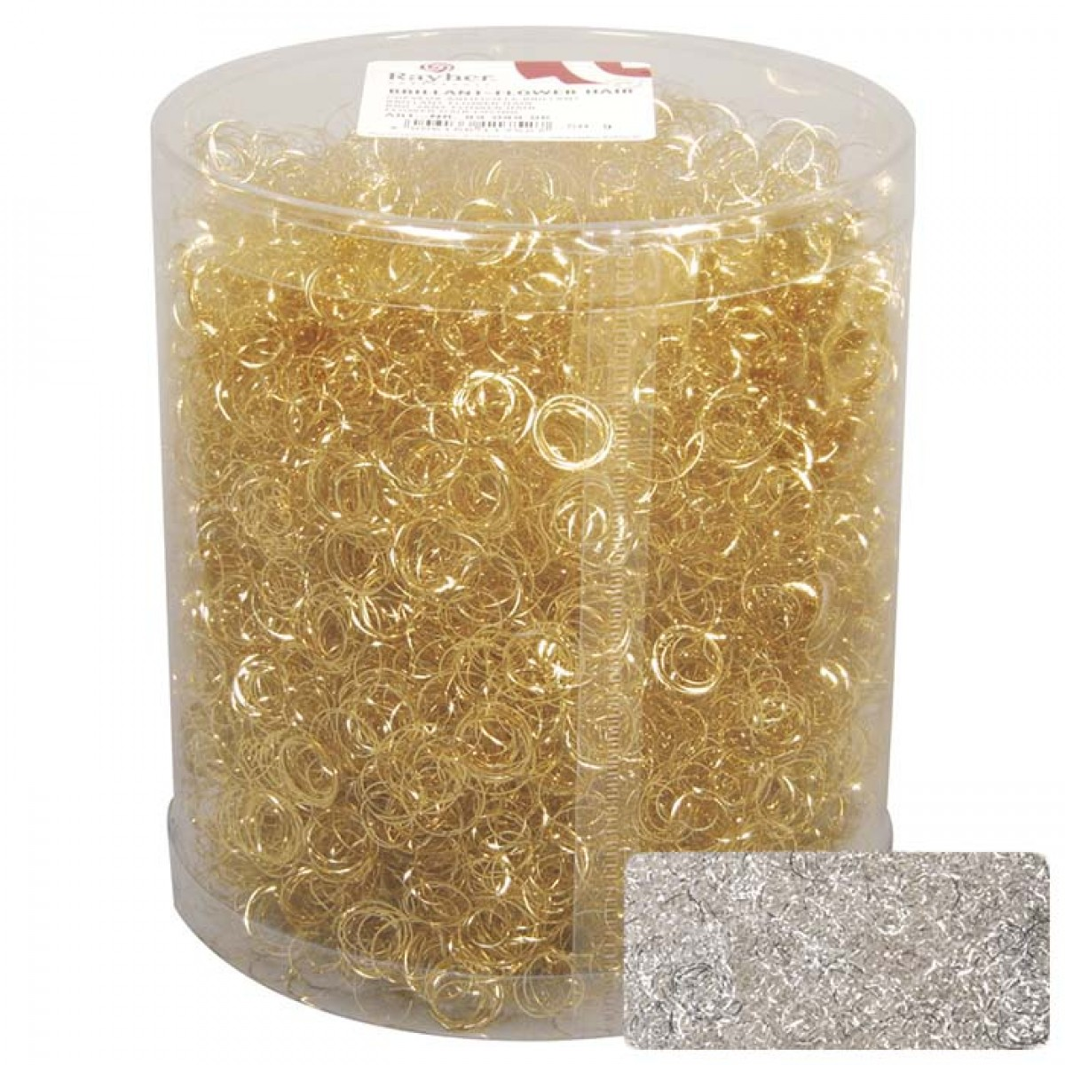 Rayher Μαλλί Αγγέλου Χρυσό-Ασημί 50gr Υλικά Χειροτεχνίας