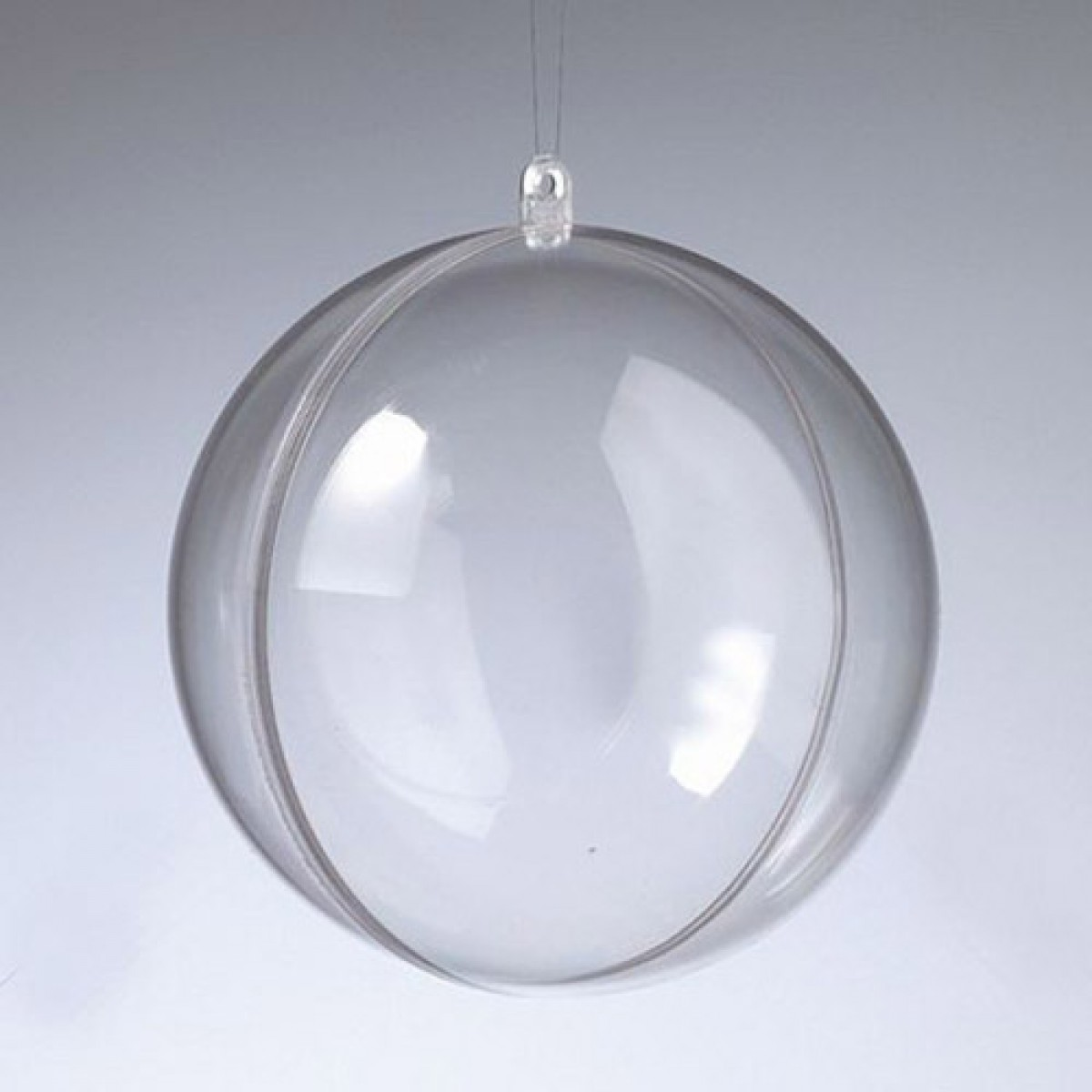 Efco Πλαστική Μπάλα Διάφανη 120mm Υλικά Χειροτεχνίας