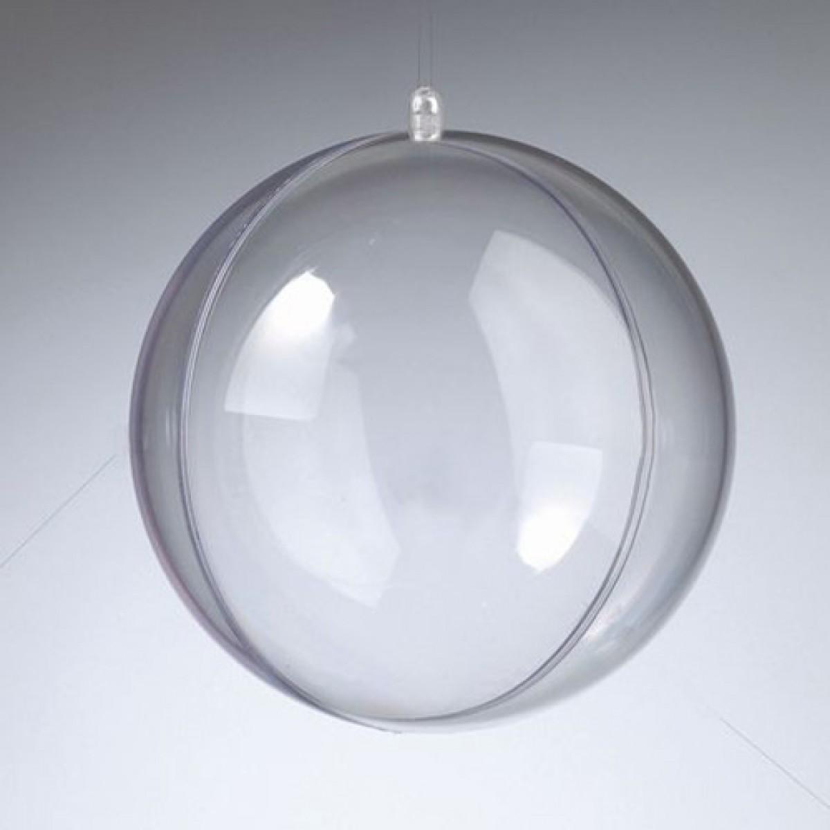 Efco Πλαστική Μπάλα Διάφανη 140mm Υλικά Χειροτεχνίας