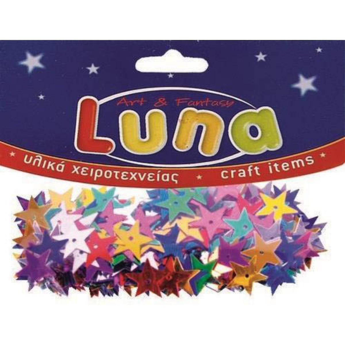 Luna Πούλιες Αστέρια (70 Τεμ.) Υλικά Χειροτεχνίας