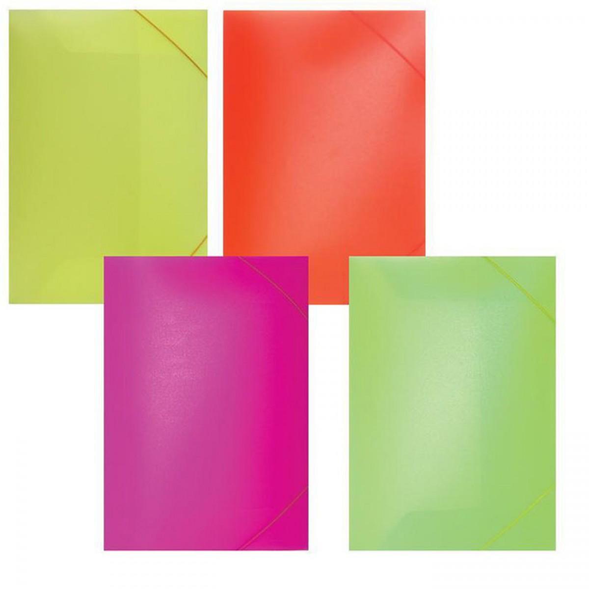 Φάκελος Έντονα Χρώματα 25x35cm Σχολικά Είδη