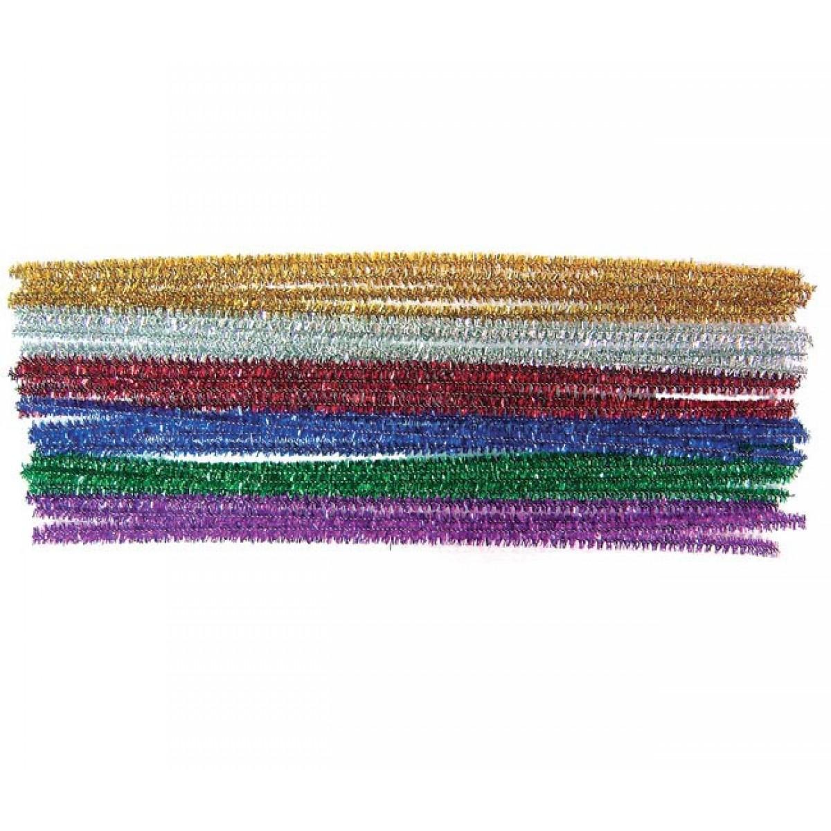 Σύρματα Πίπας Μεταλλιζέ (Μίξη Χρωμάτων) Υλικά Χειροτεχνίας