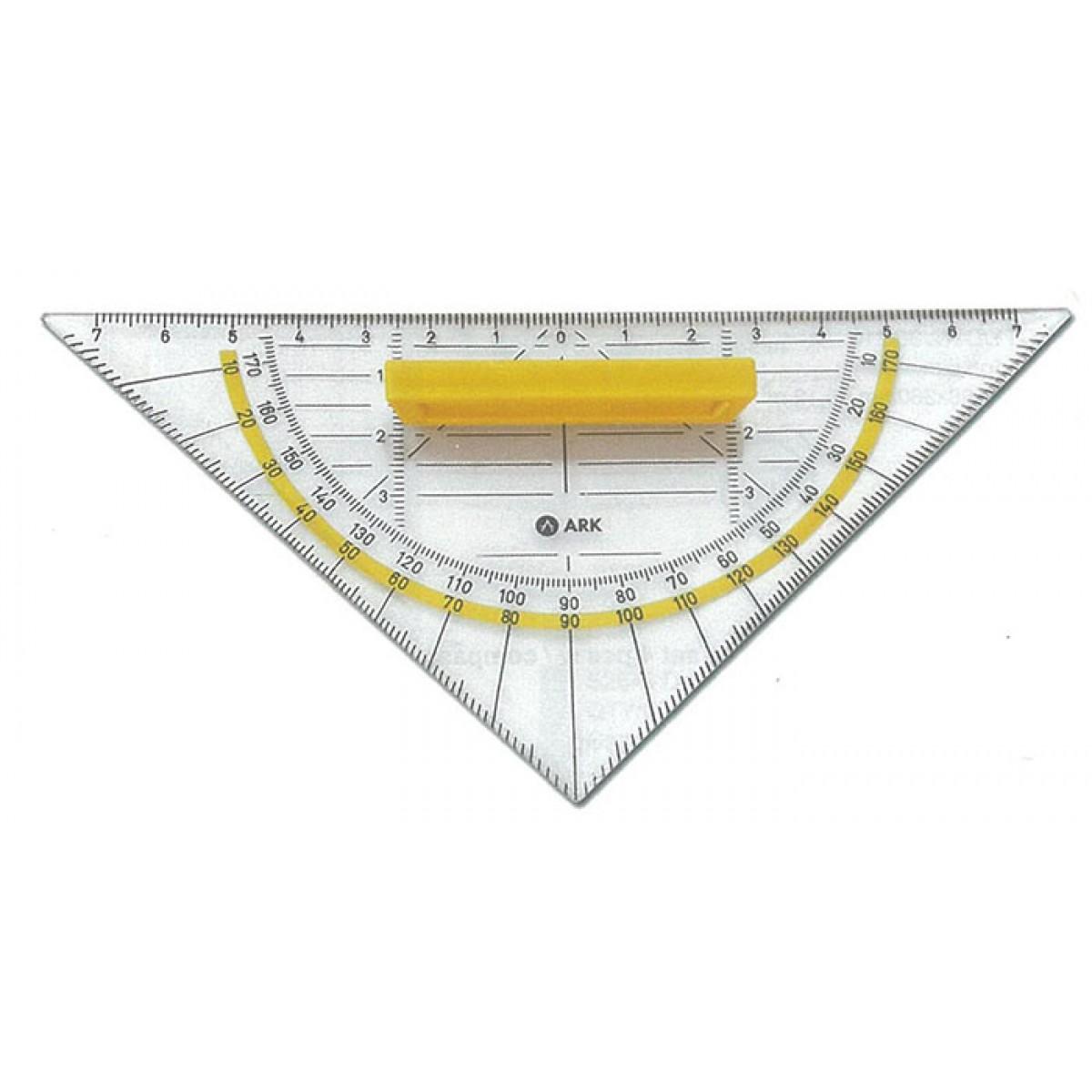 Γεωδαιτικό Τρίγωνο Με Λαβή Σχολικά Είδη