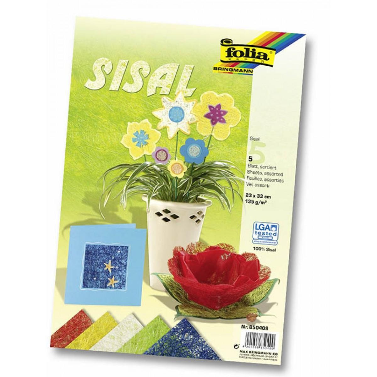Χαρτί Σισάλ Διάφορα Χρώματα Χαρτιά