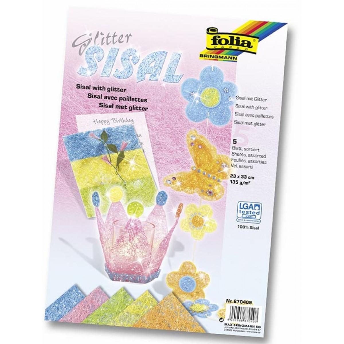 Χαρτί Σισάλ Παστέλ Χρώματα Χαρτιά