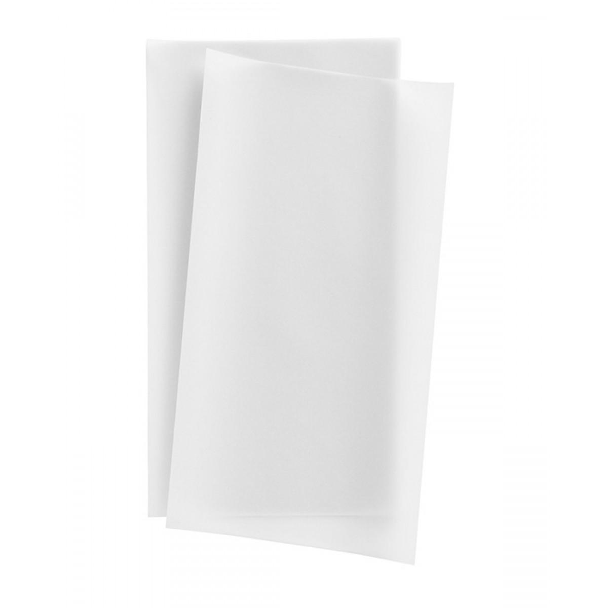 Transparent Μονόχρωμο Λευκό Χαρτιά