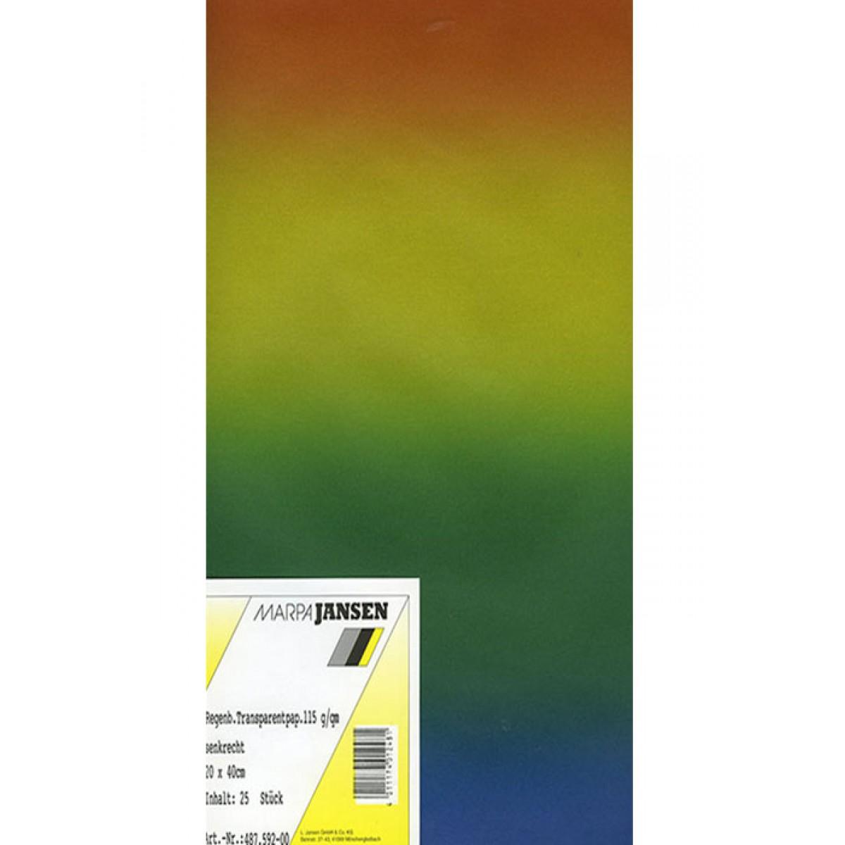 Jansen Transparent Rainbow Χαρτιά