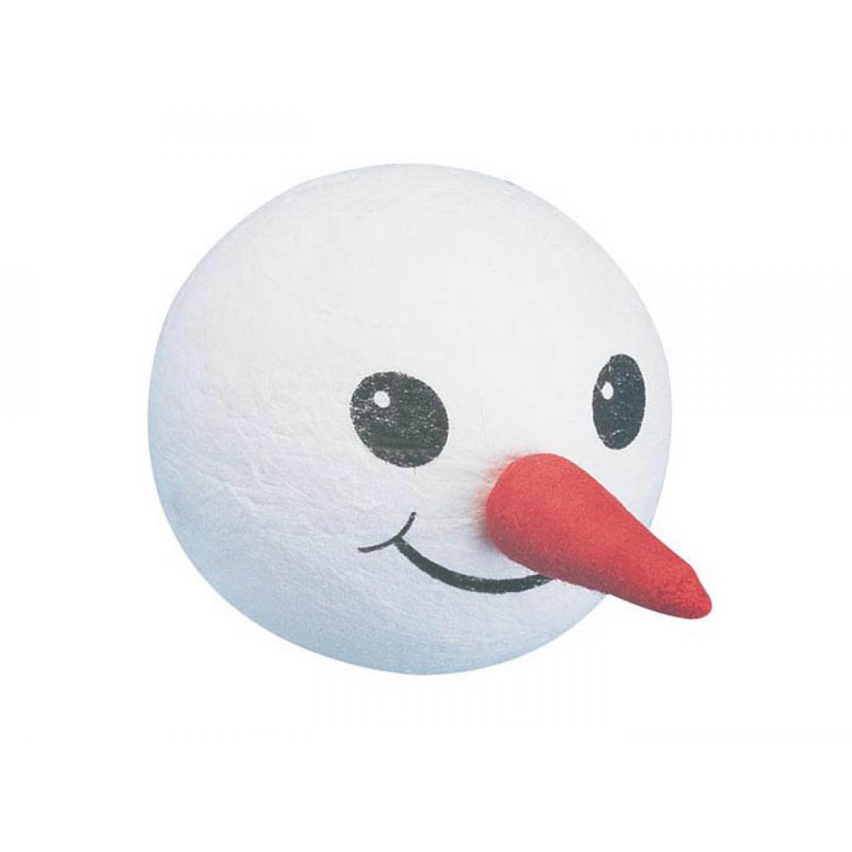 Κεφάλι Χιονάνθρωπος 50mm Υλικά Χειροτεχνίας