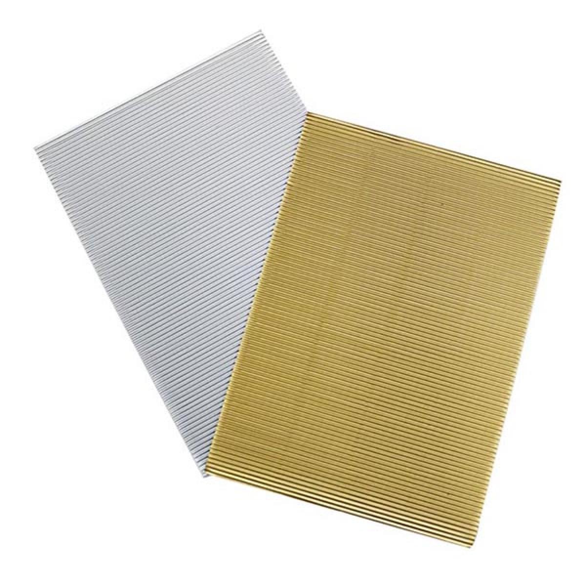 Χαρτόνι Οντουλέ (Χρυσό - Ασημί) Χαρτόνια