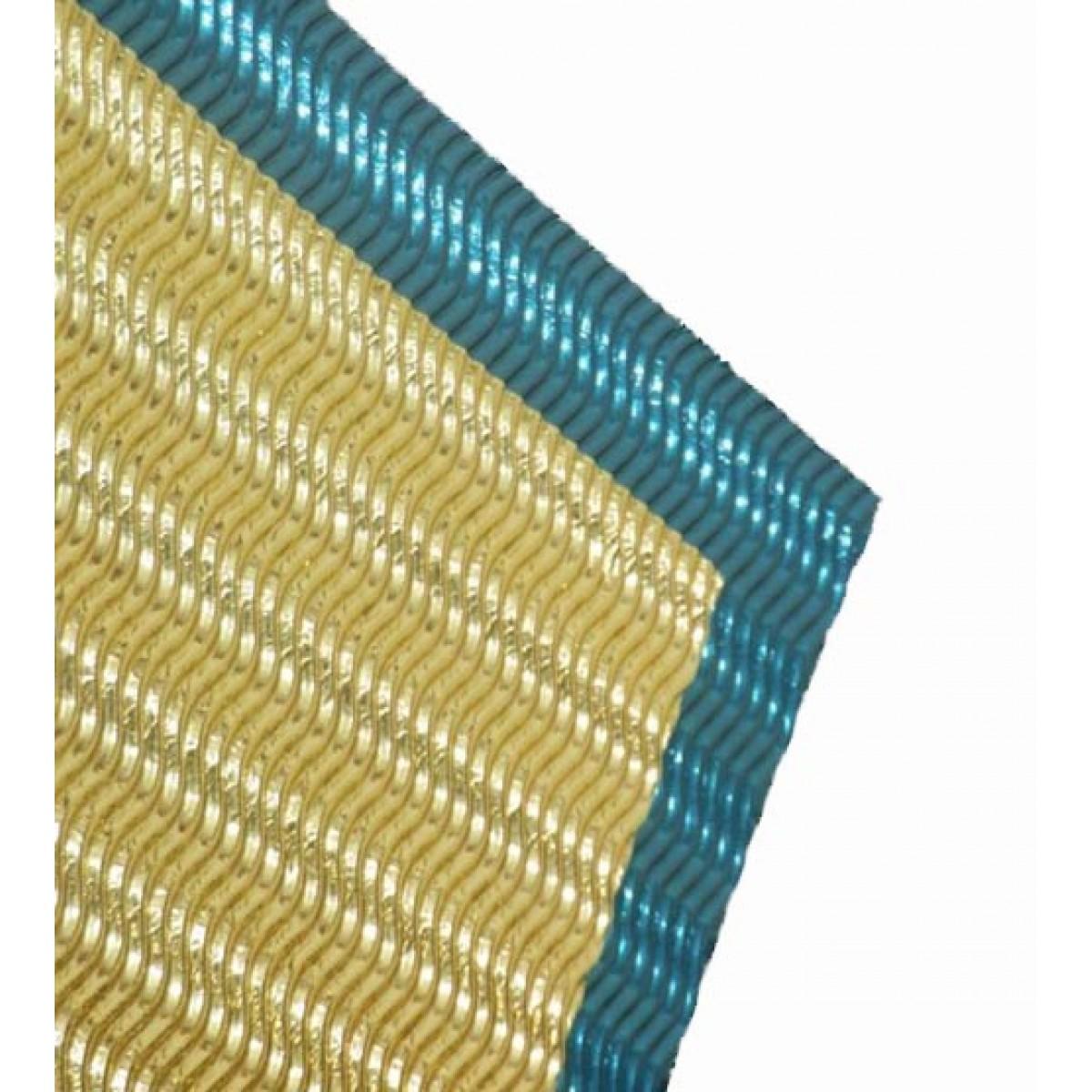Χαρτόνι Οντουλέ Κυματιστό (Μεταλλιζέ) Χαρτόνια