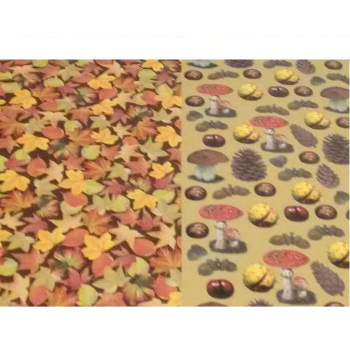 Φθινοπωρινά Σχεδια Χαρτόνια