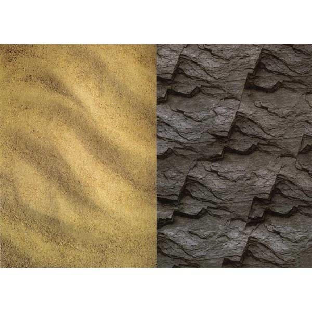 Άμμος - Βράχος  Χαρτόνια
