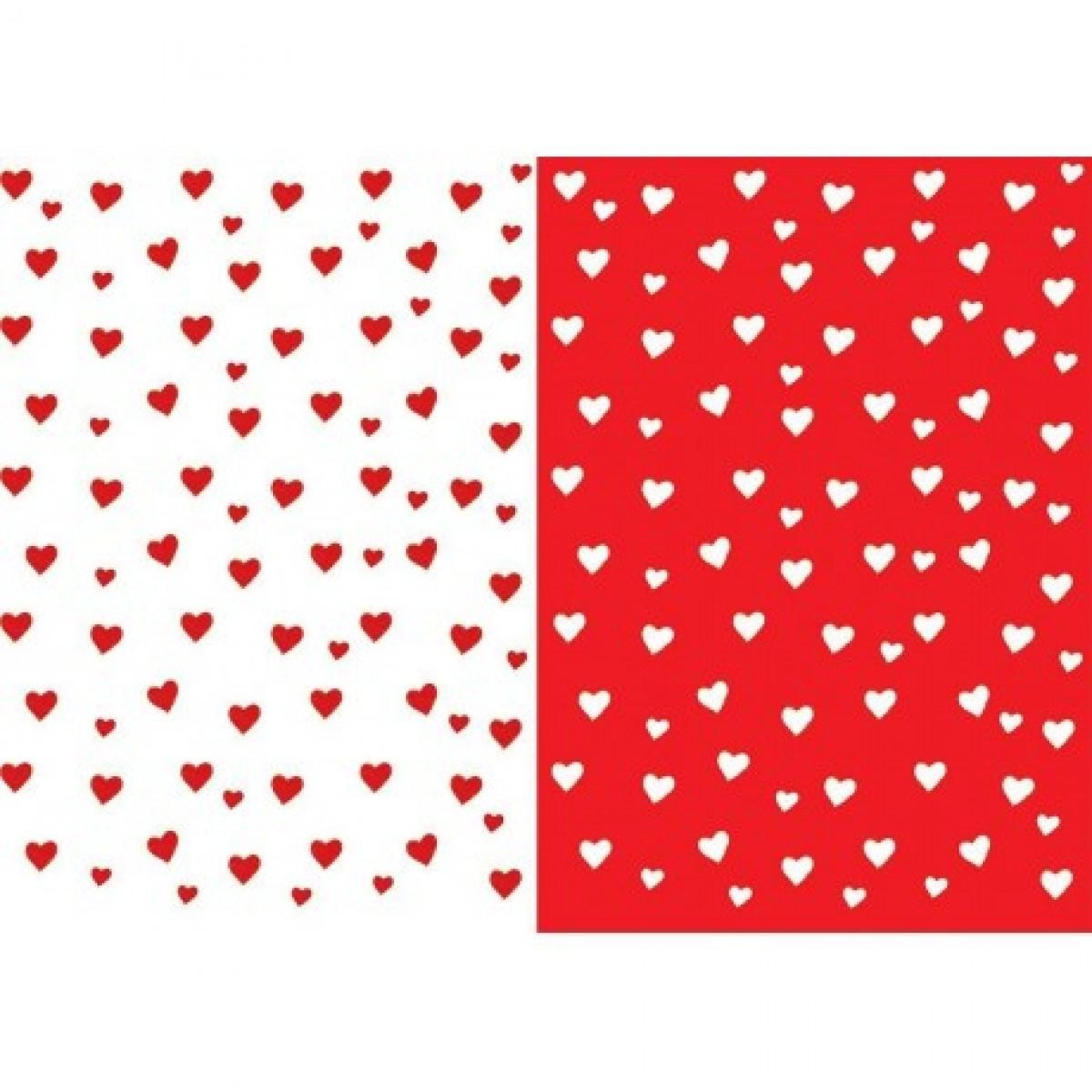 Καρδιές Άσπρες - Κόκκινες