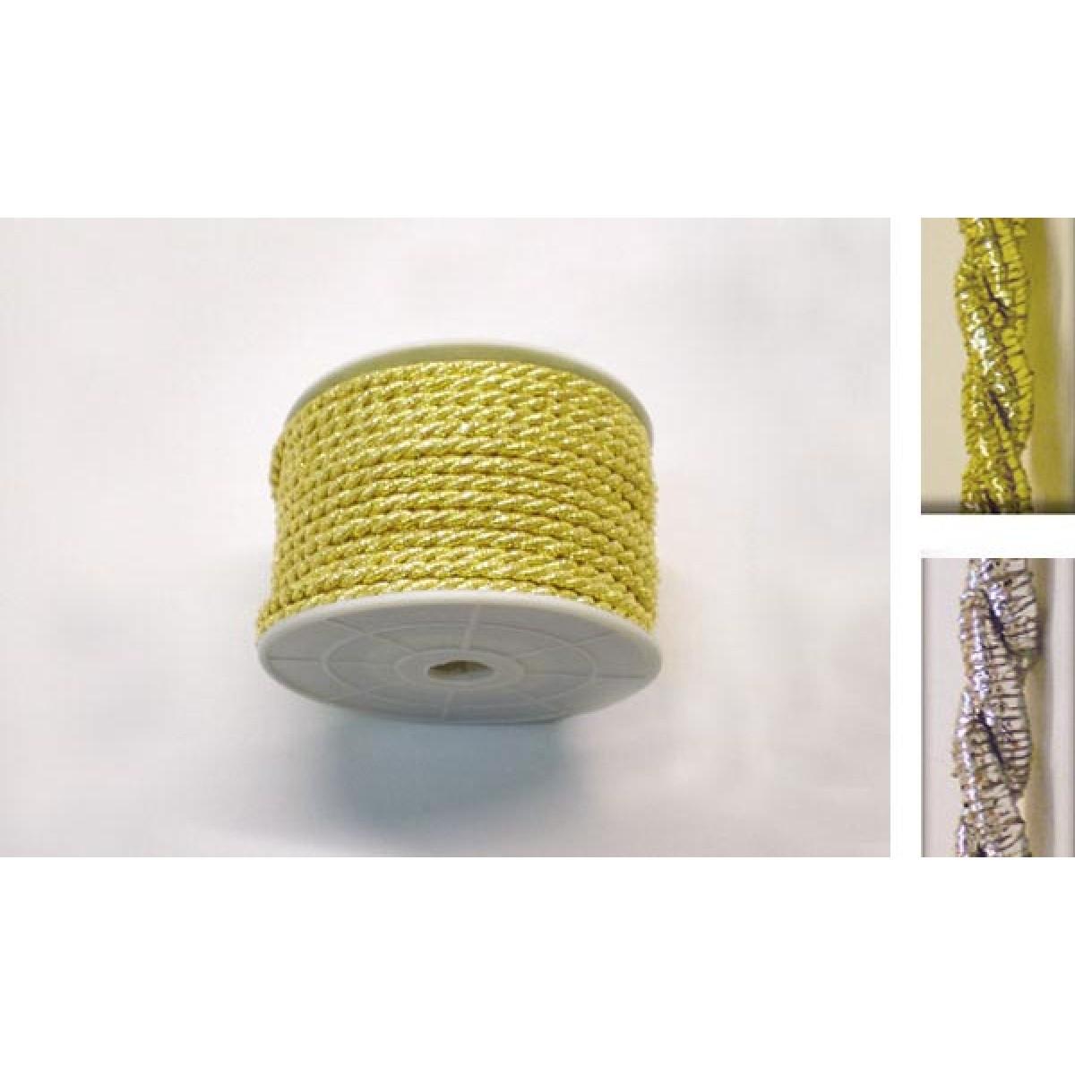 Κορδόνι Μικρό Χρυσό-Ασημί 3mm Υλικά Χειροτεχνίας