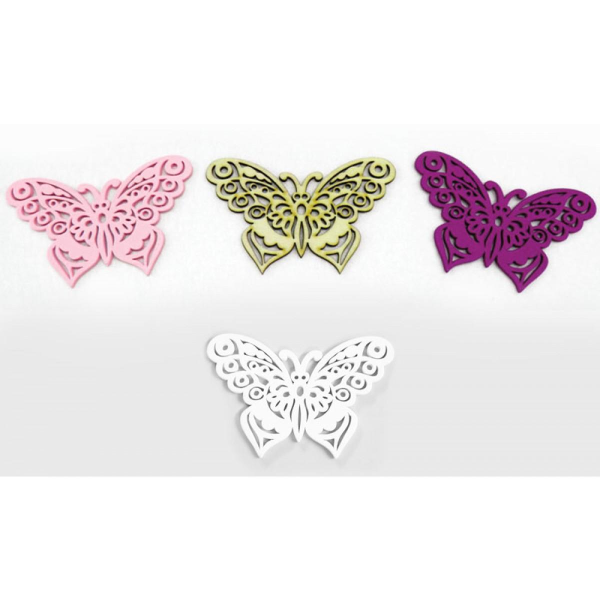 Ξύλινη Διακοσμητική Πεταλούδα