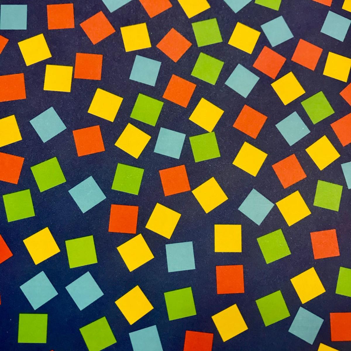 Χαρτόνι Αποκριάτικο Τετράγωνα