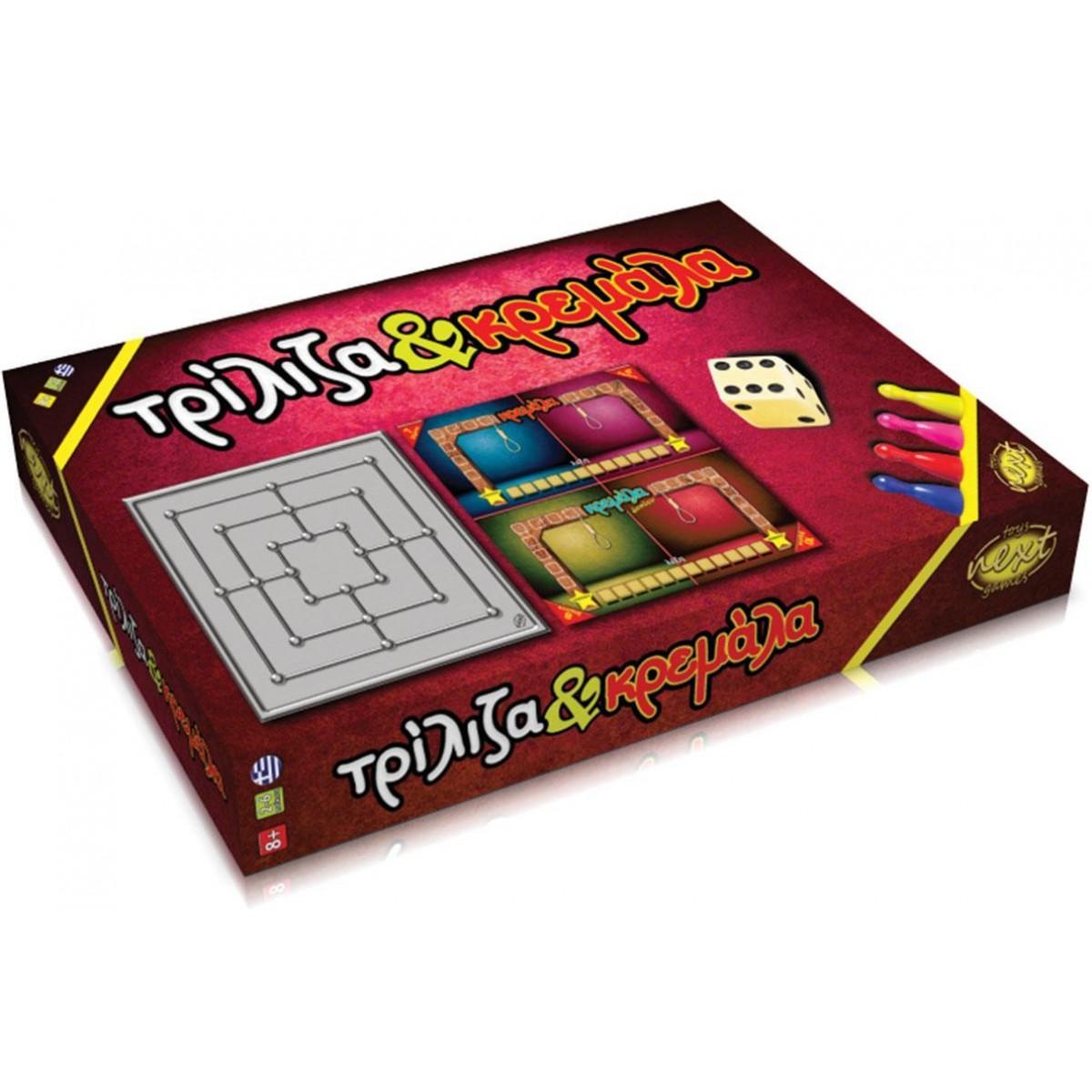 Επιτραπέζιο Παιχνίδι Τρίλιζα - Κρεμάλα