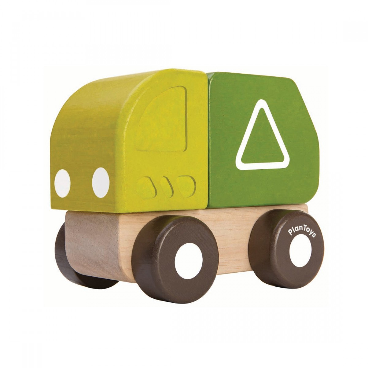 Plan Toys Όχημα Ανακύκλωσης Μίνι Ξύλινο