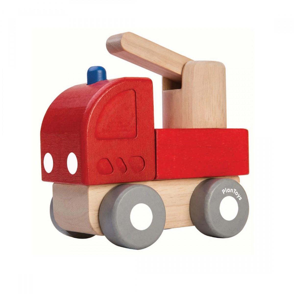 Plan Toys Όχημα Πυροσβεστικής Μίνι Ξύλινο