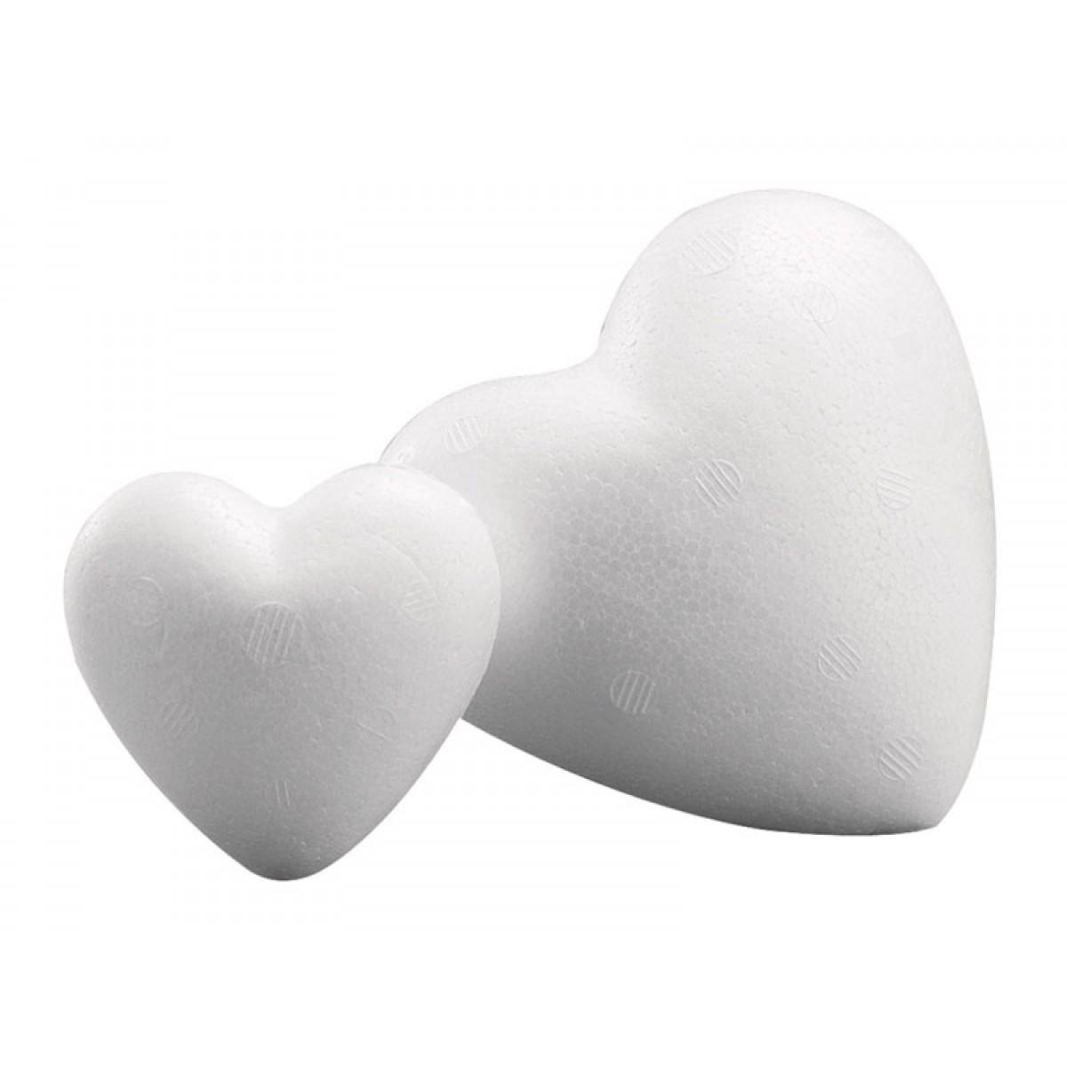 Καρδιά Φελιζόλ 9cm  Υλικά Χειροτεχνίας