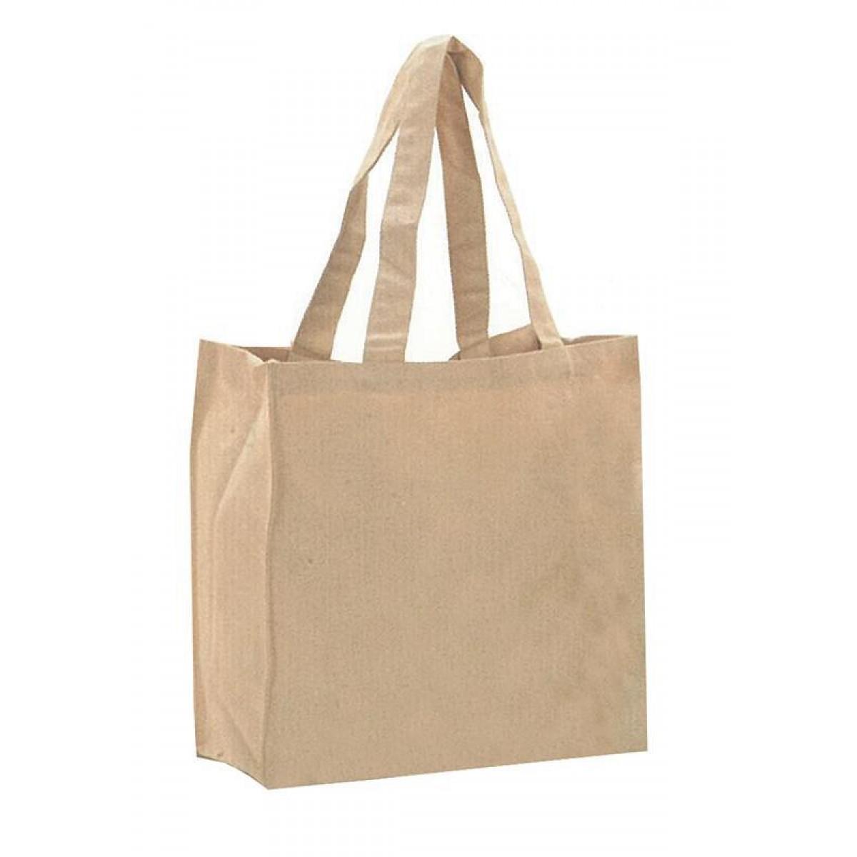 Τσάντα Βαμβακερή Με Μακρύ Χερούλι Υ38x44x14εκ.